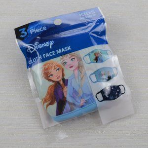 🧁3/$30 Disney Frozen 3-Pack Cloth Face Mask NWT